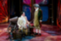 Sam Hird as Marlow and Mark Hird as Mr Hardcastle –Oliver Goldsmith's She Stoop To Conquer