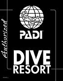 images padi dive resort logo bw.png