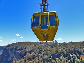 The Scenic Cableway at Scenic World, tou