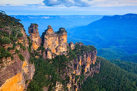 The Three Sisters From Echo Point, Blue