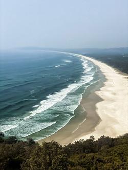 Byron coast