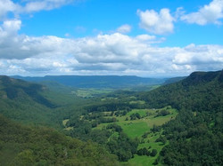 Kangaroo Valley from Belmore Falls