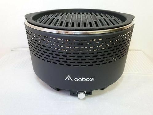 Aobosi Smokeless Charcoal Grill, Indoor And Outdoor Portable Field Smokeless