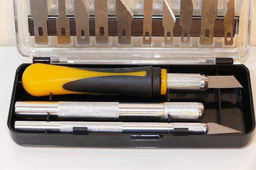Modelcraft Precision Craft Knife Set 16 Pcs