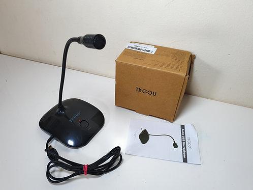 USB PC Microphone, TKGOU Ture Plug & Play Home Studio USB Computer Microphone Wi