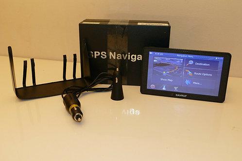 Sat Nav, NAVRUF GPS Satellite Navigation for Car Truck, 9 Inch Touchsceen