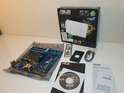ASUS M5A78L-M PLUS/USB3 Motherboard - (Black) (AM3+ FX 760G, 6 x SATA 3Gb/s port
