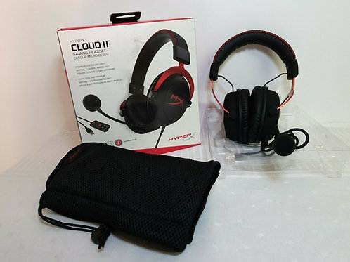 HyperX Cloud II 7.1 Virtual Surround Sound Gaming Headset with Advanced USB