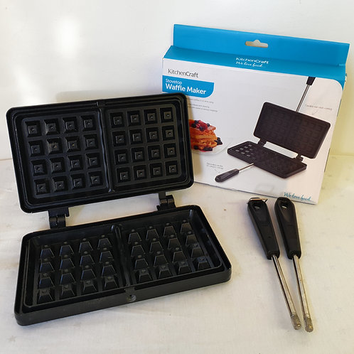 KitchenCraft Stove Top Waffle Iron with Non Stick Coating