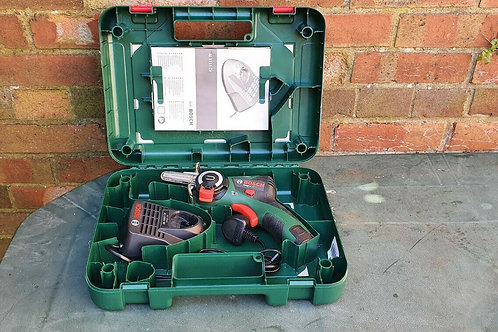 Bosch Home and Garden 06033C9070 EasyCut 12 LI, 12 V, Green