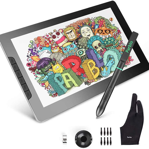 Parblo Mast13 Pen Display 13.3 Inches IPS LCD Screen Drawing Monitor with 1920x1