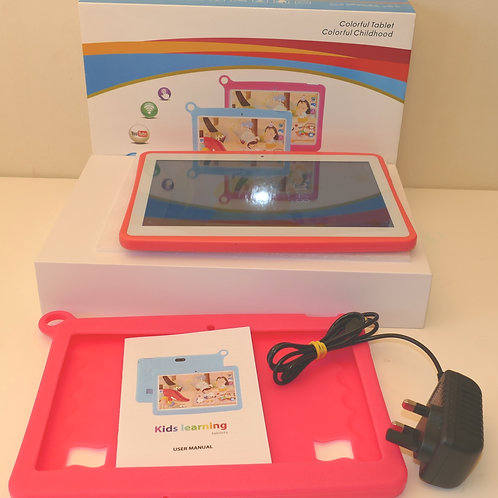 10'' Inch Kids Colorful Tablet, Android 8.1 Pad,1280x800 IPS 32 GB Model K102