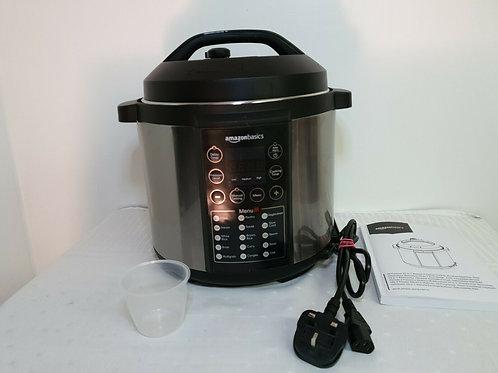 AmazonBasics 23 in 1 Multi-Purpose Electric Steamer, Pressure Cooker, 5.5 Litre
