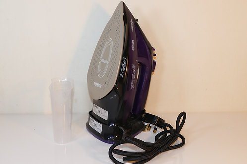 Tower T22008 CeraGlide 2-in-1 Cord or Cordless Steam Iron with Non-Stick