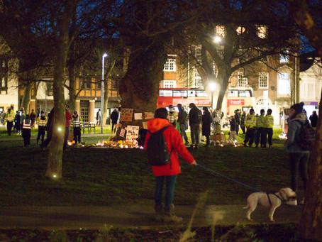 Vigil for Sarah Everard- Brighton