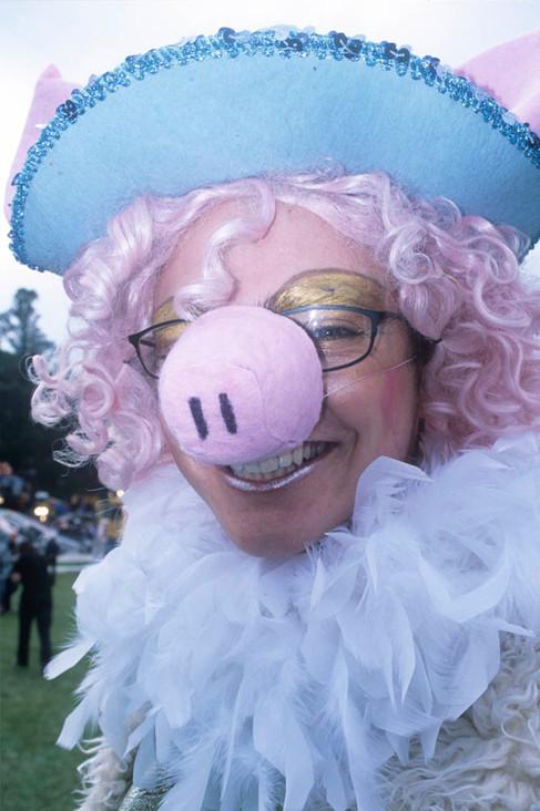 Gay Pride. Little Miss Piggy