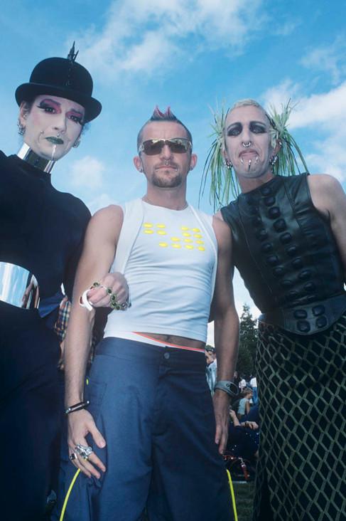 Gay Pride Trio