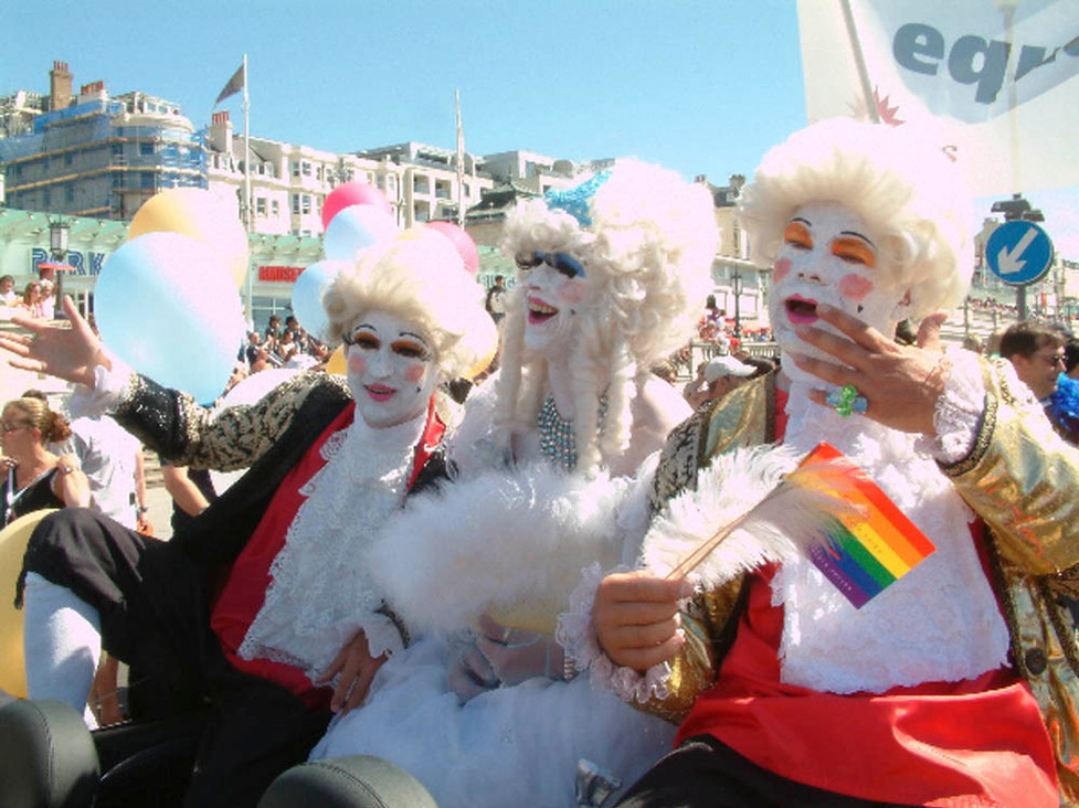 Gay Pride procession