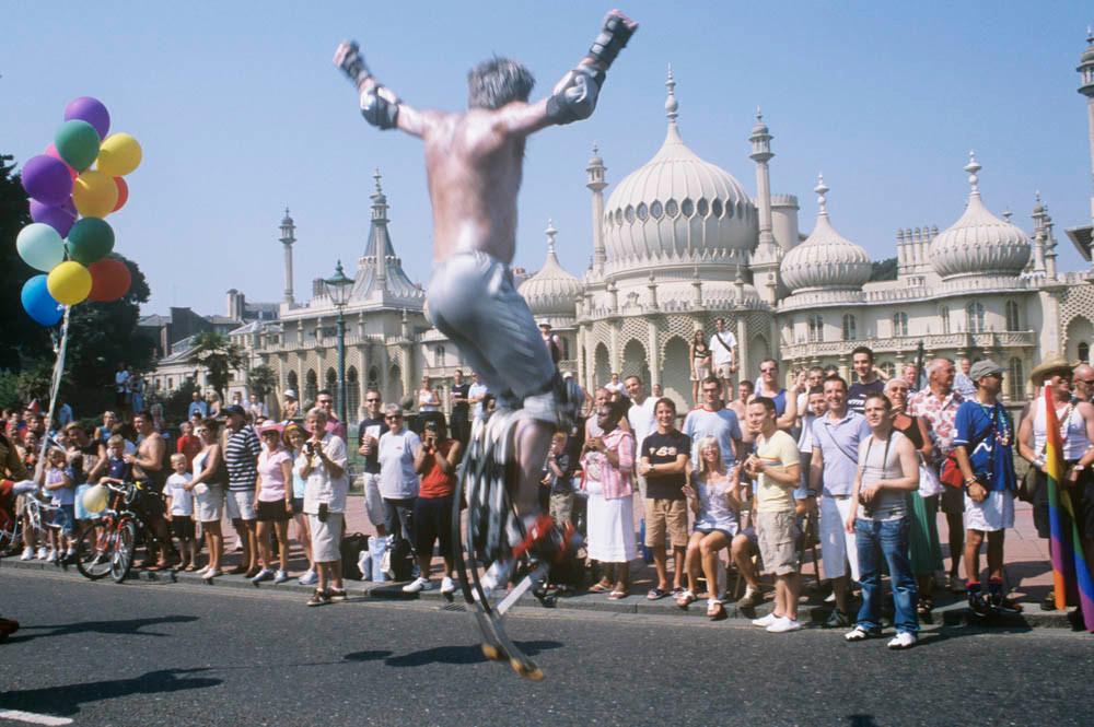 Gay Pride. The Pavillion