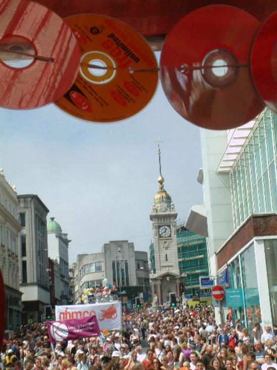 Gay Pride. North Street, Brighton