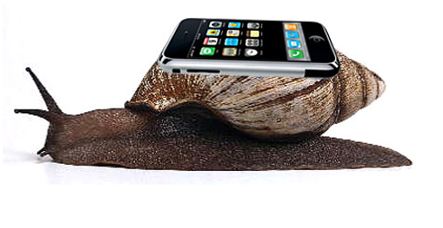 snail-with-iphone-representing-apple-throttling