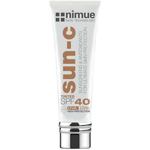 Nimue Sun-C Tinted SPF40  Dark 60ml