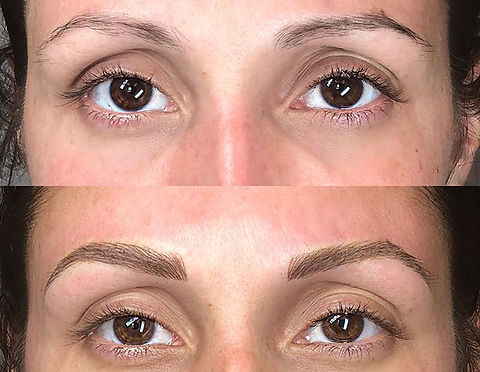 Ready for her close-up 💋 #microblading #microstrokes #3dbrows