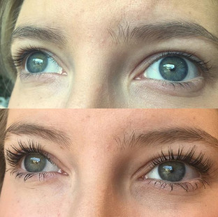 Lash lift by Karina