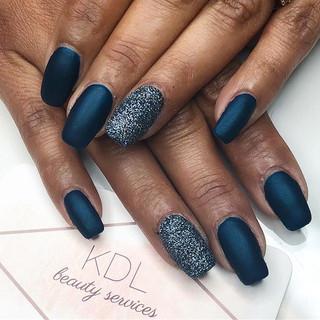 Navy blue matte 💙💙💙