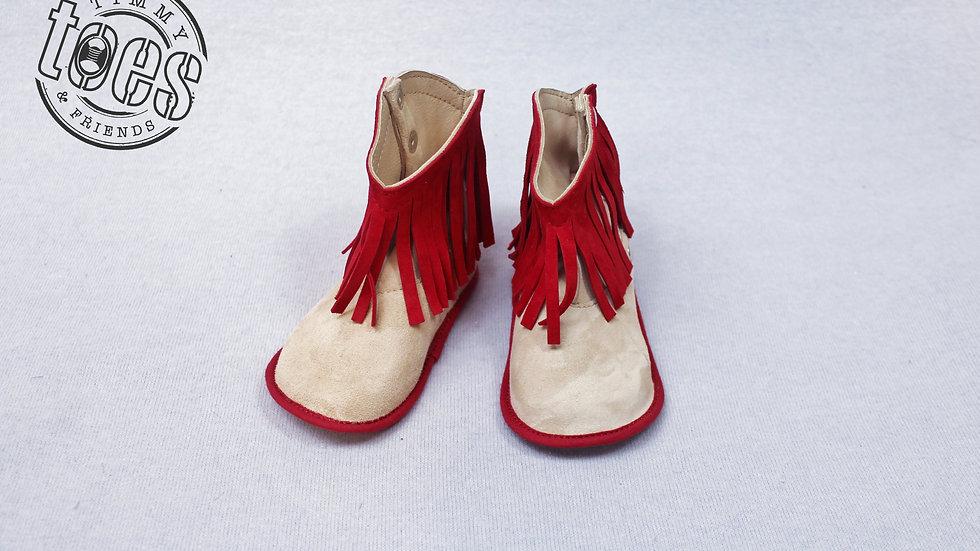 Cowboy bootie red