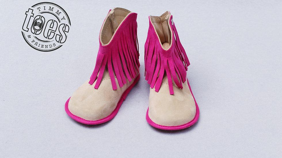 Cowboy bootie pink