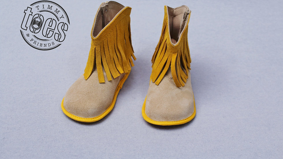 Cowboy bootie yellow