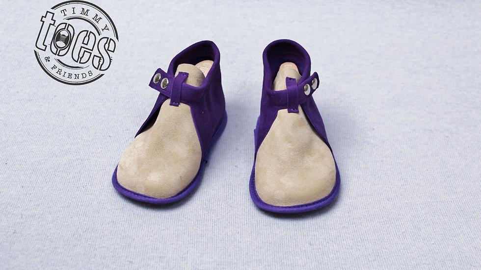 Bootie purple