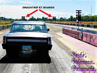 Drag Strip ET Boards