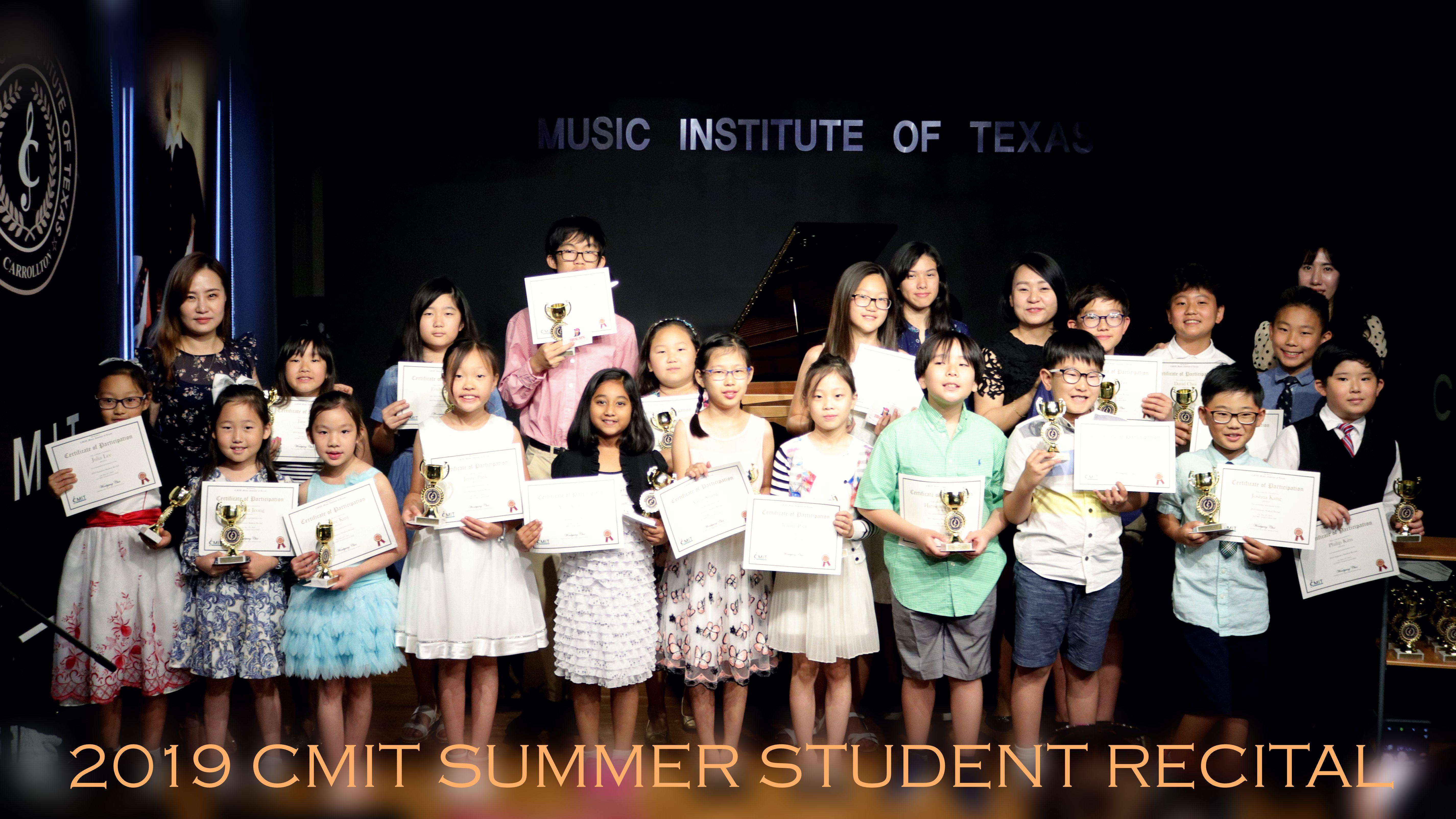 2019 CMIT SUMMER STUDENT RECITAL 05-19-1