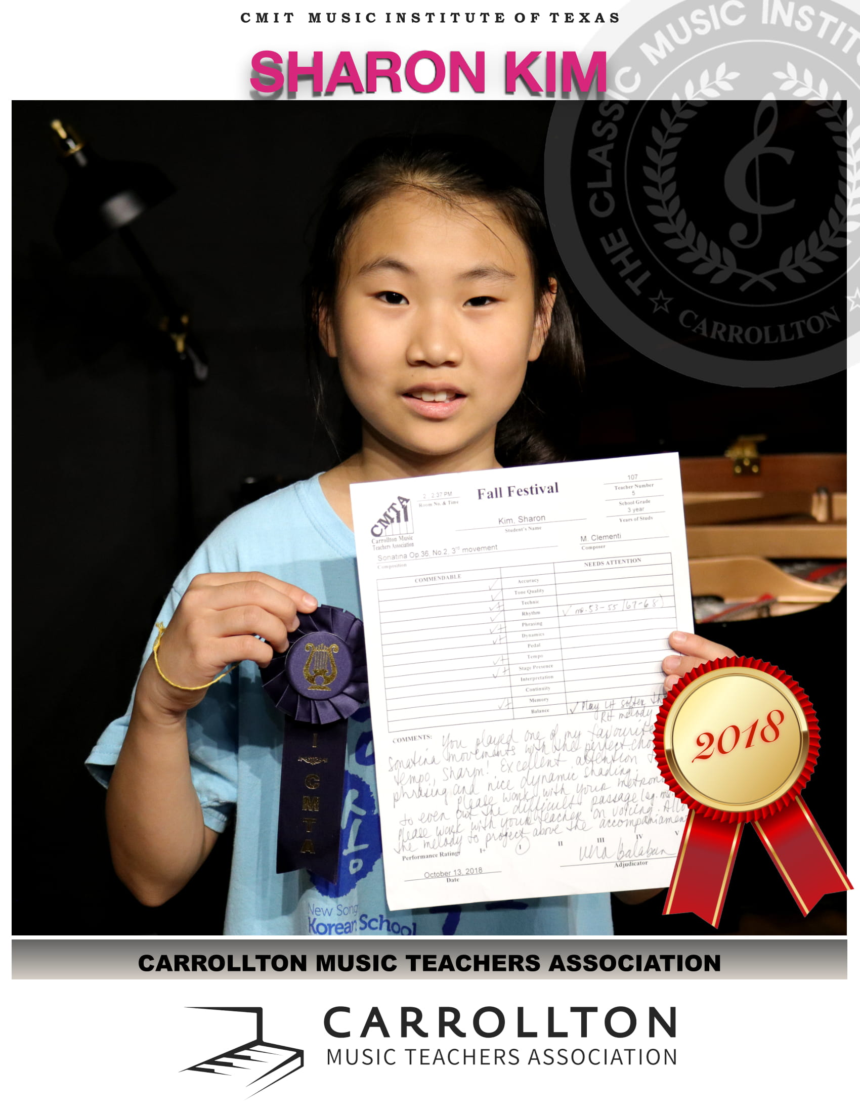 2018 CMTA FALL - SHARON KIM 15-1
