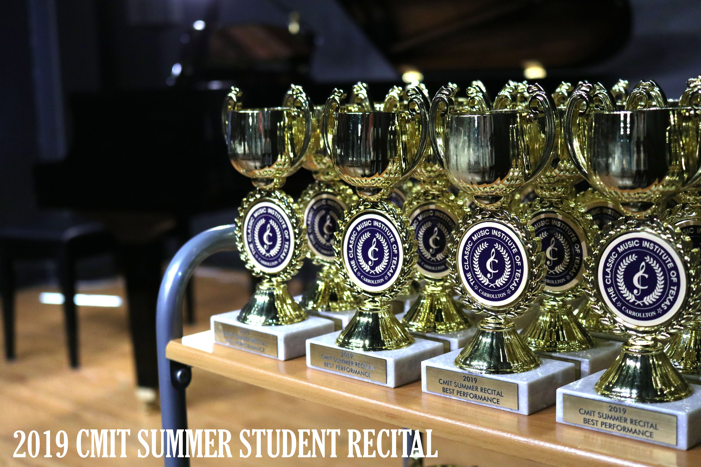 2019 CMIT SUMMER STUDENT RECITAL