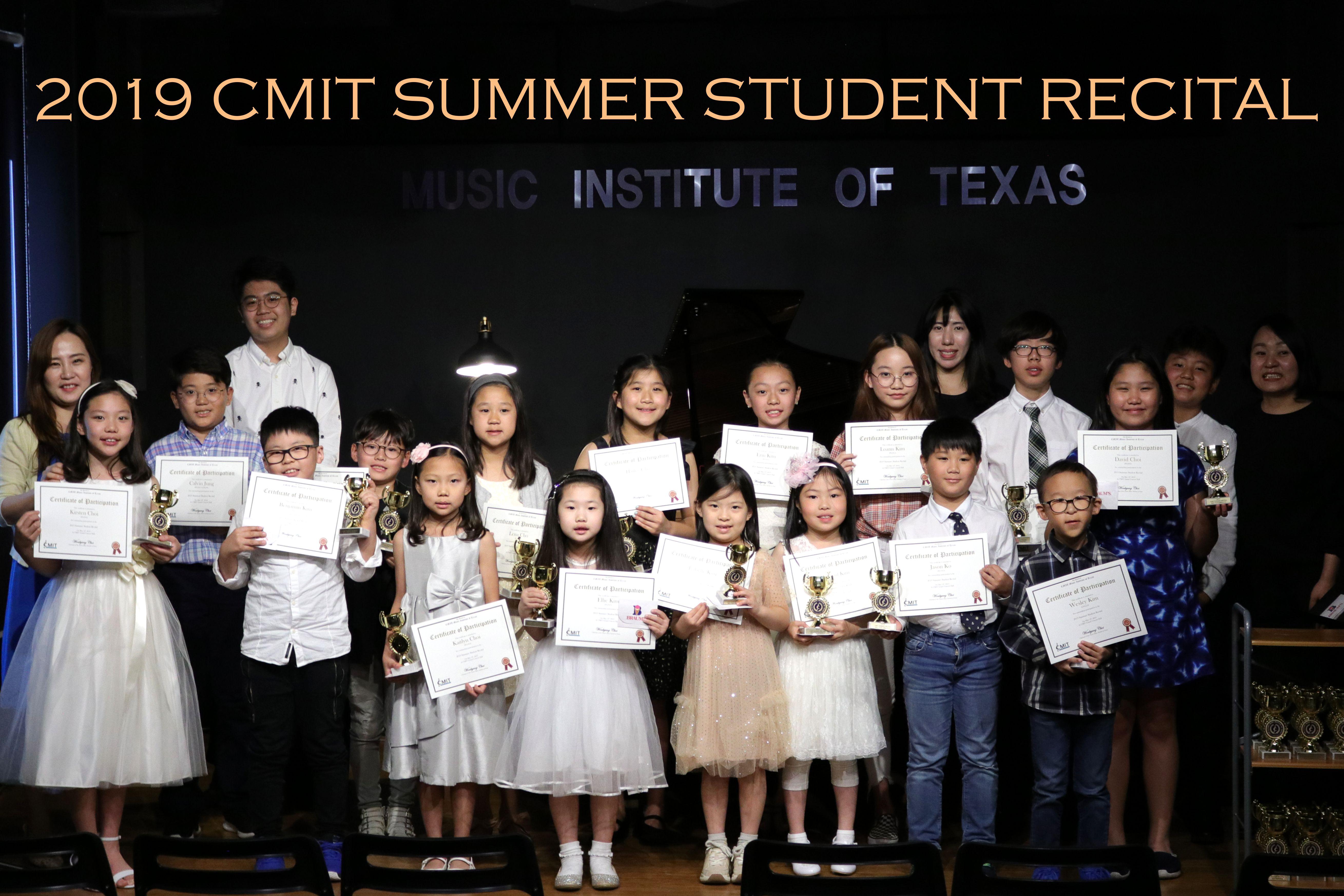 2019 CMIT SUMMER STUDENT RECITAL 01s