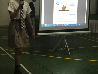 Our First Presentation at Our School