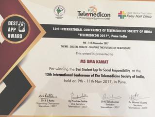 Telemedicon 2017- Best Student Social Responsibility Awards