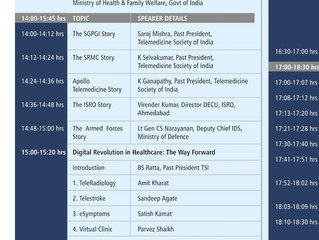 eSymptoms Team is invited to the National TeleMedicine Day in Delhi !!!
