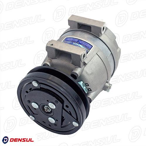Compressor V5 Retroescavadeira Hyundai Polia V 24v