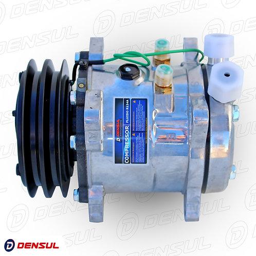 Compressor 5h11 2a 12v  Saída Vertical