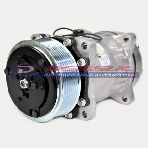 Compressor 7h15 8pk 12v Horizontal New Holland / Universal