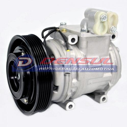 Compressor Toyota Corolla 2002>2007 10p15c polia 6pk 12v