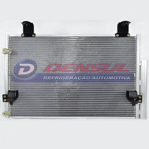 Condensador Toyota Hilux SRV 06> (Bac1106) Diesel Saída Mesmo Lado