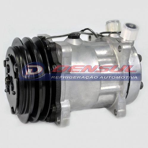 Compressor 7h15 (8 orelhas) 2 a 12v Saída Vertical