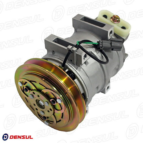 Compressor  Maquina Komatsu PC228 24 Volts Polia Canal 1B