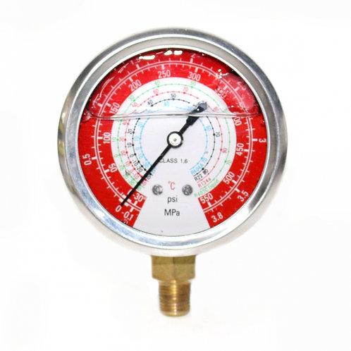 Manômetro de Alta de 0 a 550 psi (com glicerina)