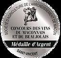 Medaille Argent - Concours St Vincent Ma